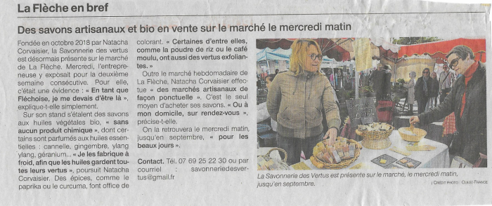 Article Ouest France Avril 2019